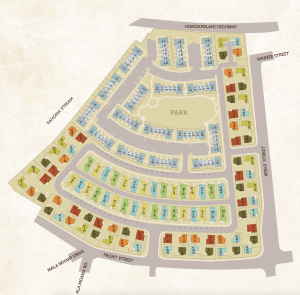 Kahoma Village Site Map