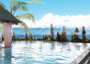 Wailele Ridge Ininity Pool