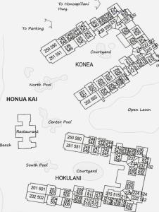 Whaler at Kaanapali Beach Site Map