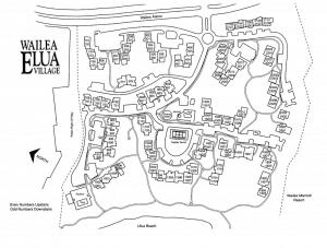 Wailea Elua Site Map