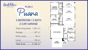 Kealohilani Floor Plan 2