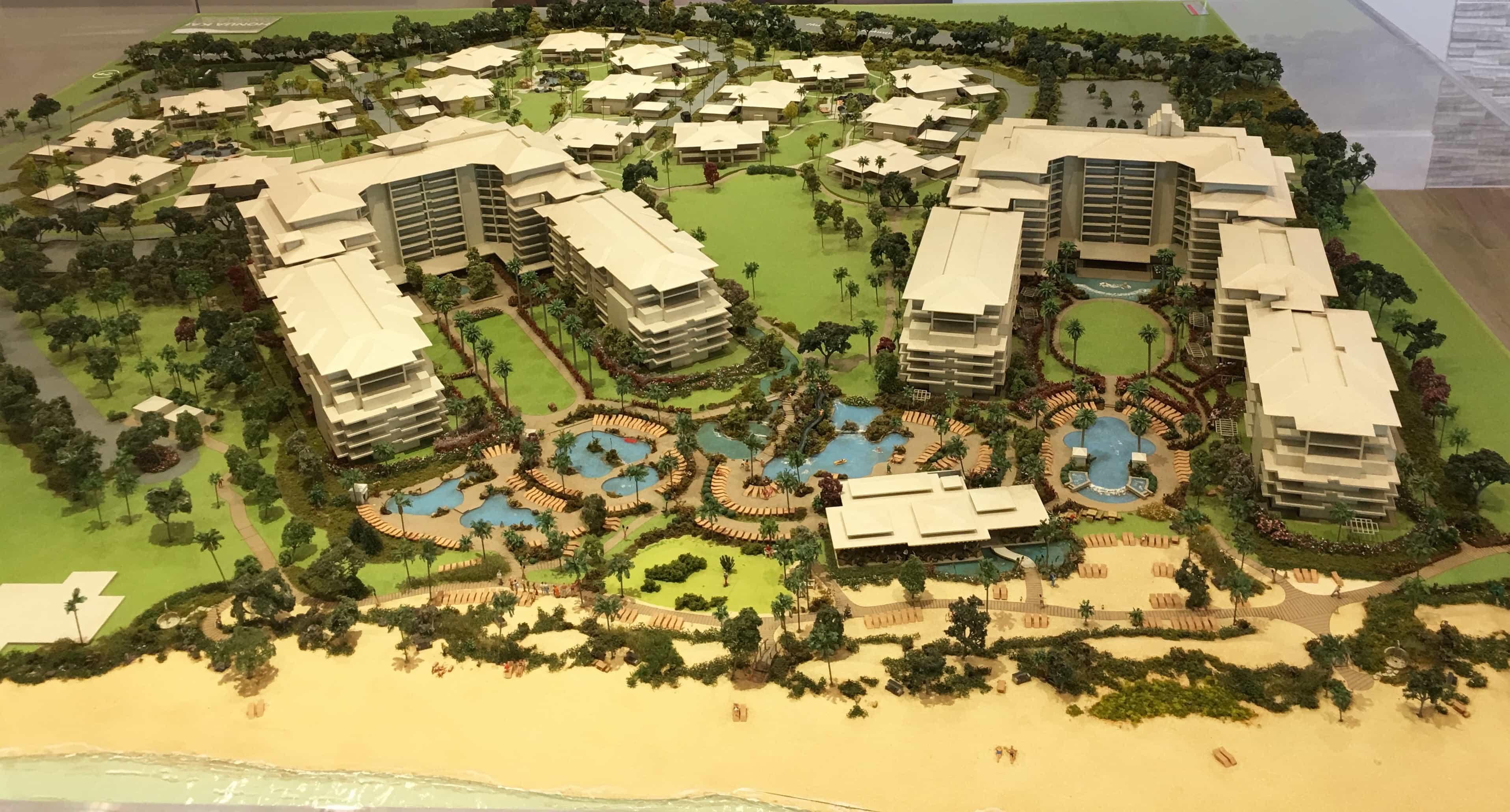 Honua Kai and Luana Garden Villas Site Plan