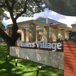 Whalers Village Sign and Entrance